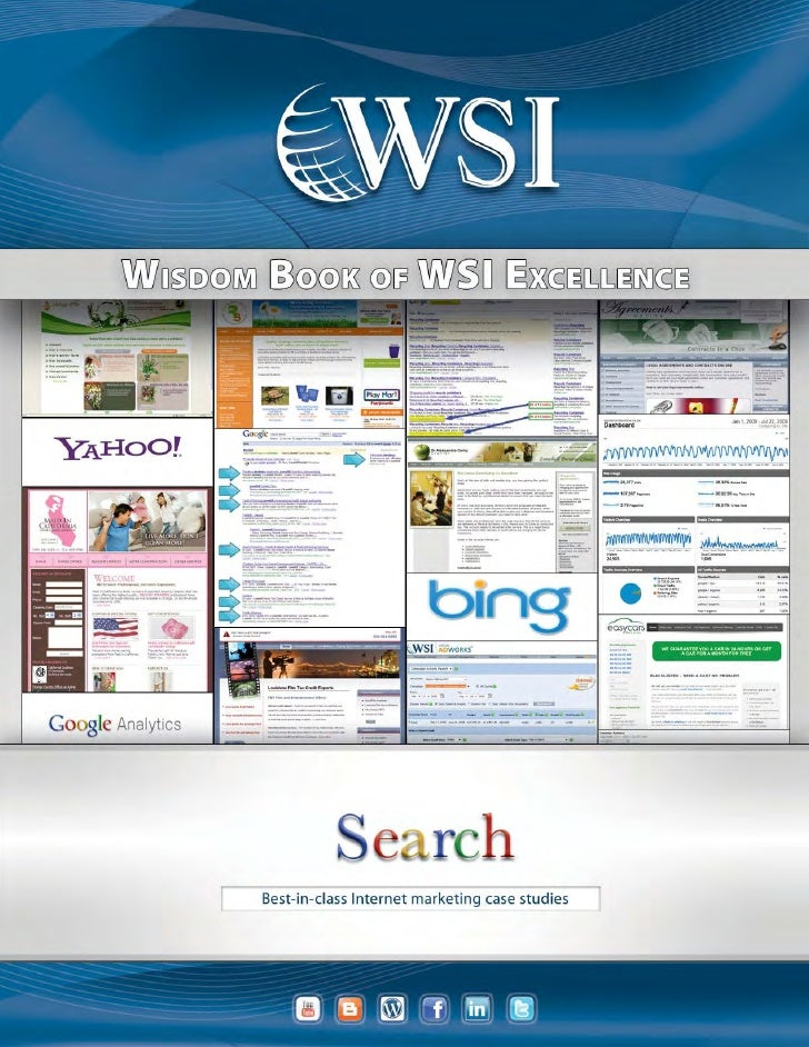 WSI Wisdom Book of Case Studies