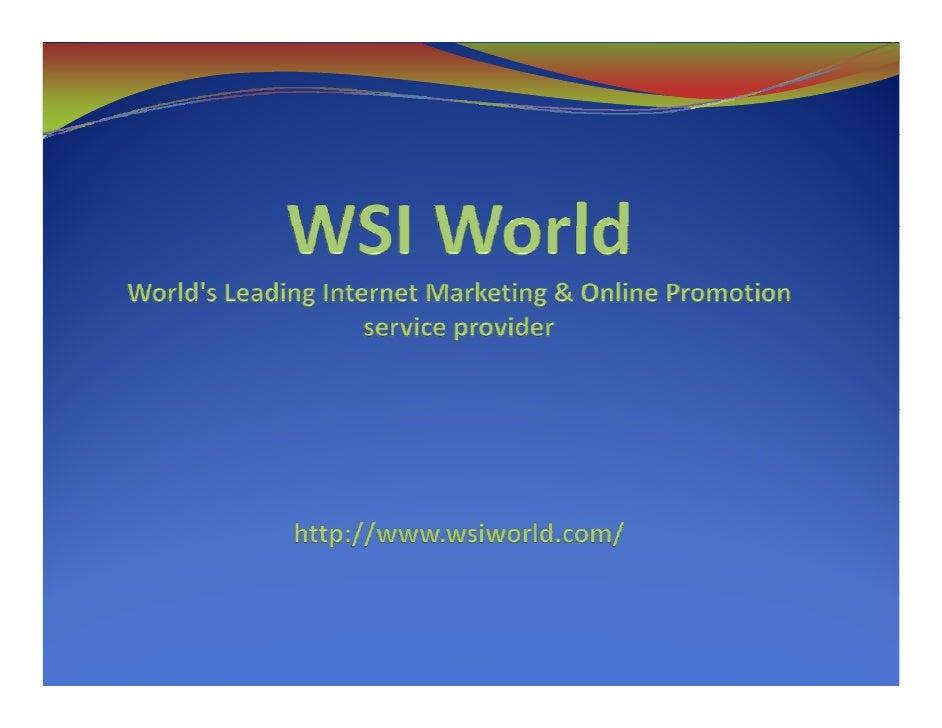 WSI World - Content Marketing