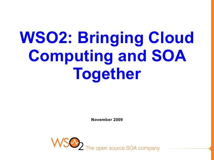 Wso2 Cloud Public 2009 11 16