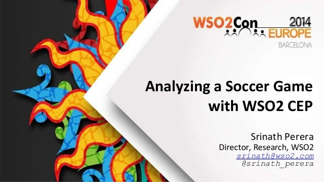 Analyzing a Soccer Game with WSO2 CEP