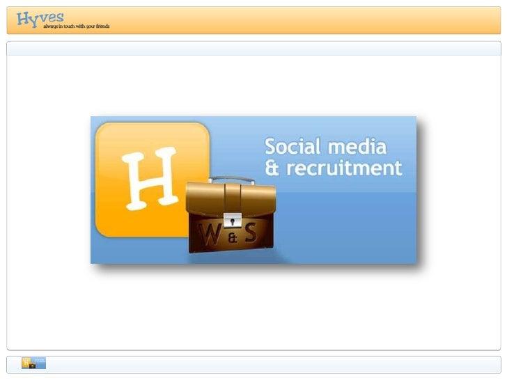 Agenda   •Even voorstellen •Introductie Hyves • Social Media en Social Networks • Hyves in Nederland  •Social Networks & R...