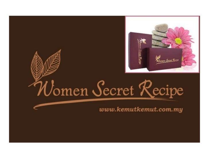 """WOMEN SECRET RECIPE         """"RAHSIA KEMBALI PERAWAN""""• Rahsia tradisi ratusan tahun yang cukup istimewa  ini kini menjadi m..."""