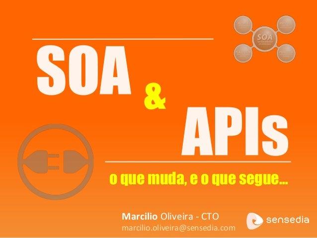&o que muda, e o que segue…Marcilio Oliveira - CTOmarcilio.oliveira@sensedia.com