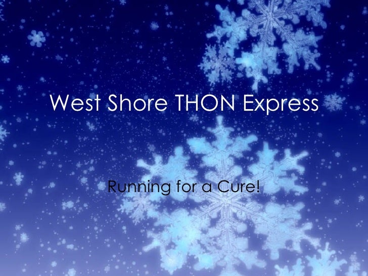 West Shore THON Express Running for a Cure!
