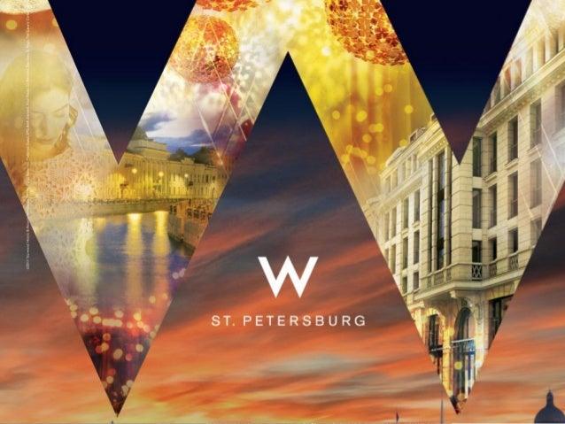 W St. Petersburg Hotel