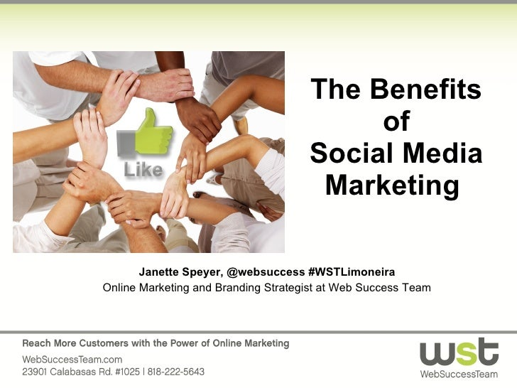The Benefits of Social Media Marketing