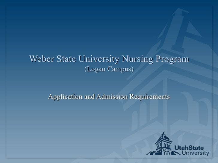 Weber State University Coop Nursing Program