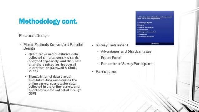 Convergent parallel design study