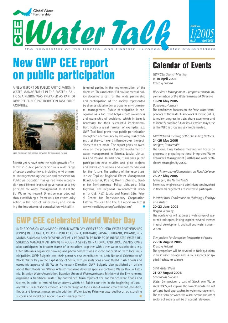 New GWP CEE report                                                                                                        ...