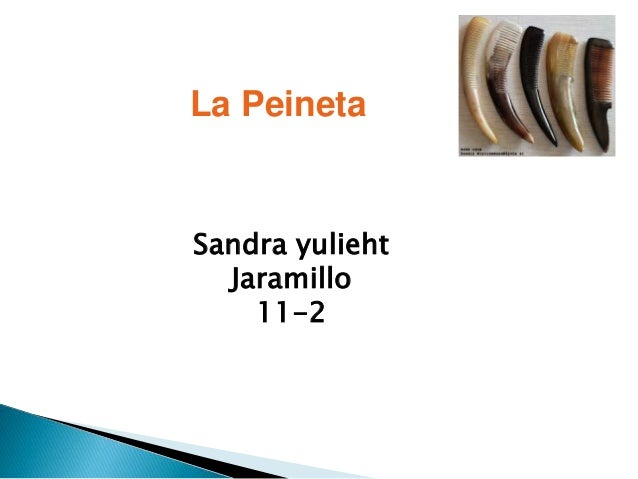 La Peineta Sandra yulieht Jaramillo 11-2