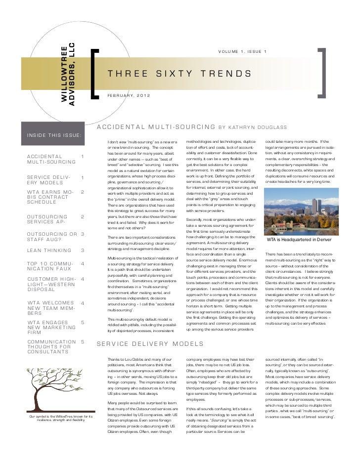 WTA Newsletter_Volume1 Issue 1_022012