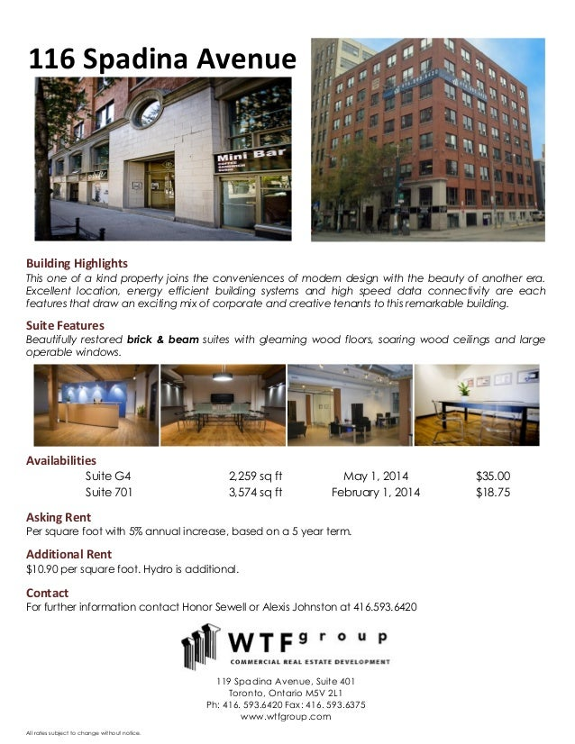 Wtf properties   november availabilities