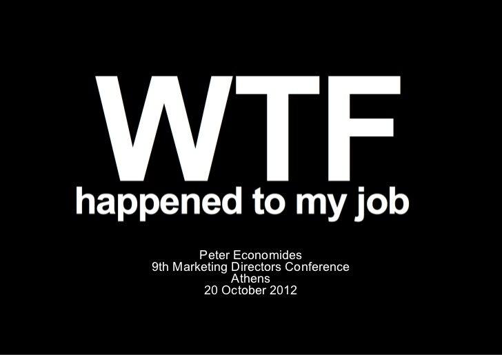WTF happened to my job