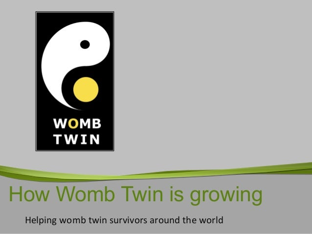 How Womb Twin is growing Helping womb twin survivors around the world