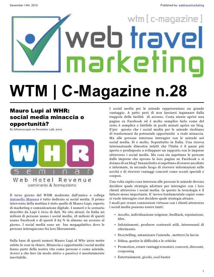 WTM | C-Magazine n.28