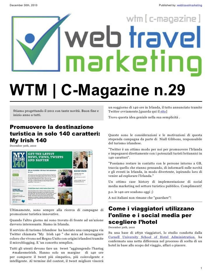 December 30th, 2010                                                                                 Published by: webtrave...