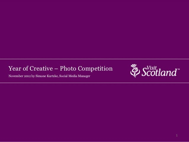 Year of Creative – Photo CompetitionNovember 2012 by Simone Kurtzke, Social Media Manager                                 ...