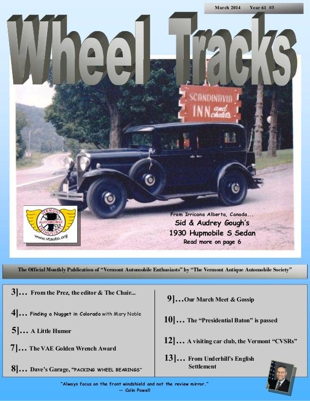Wheel Tracks March 2014
