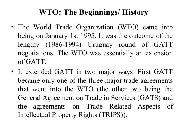 the value of world trade essay World trade organization principles essay mfn treatment is a world trade organisation (wto) agreement which states that during trade this is also known as selling under fair value.
