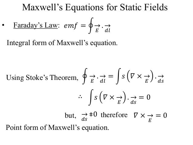 """maxwell faraday and maxwell ampere equations 291 chapter 29 maxwell's equations and electromagnetic waves """"science is the attempt to make the chaotic diversity of our senseexperience correspond to a logically."""