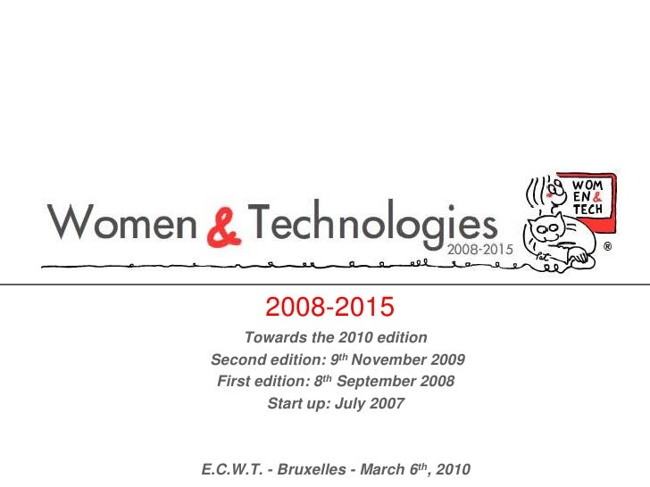 2008-2015<br />Towards the 2010 edition <br /> Second edition: 9th November 2009<br />First edition: 8th September 2008 <b...