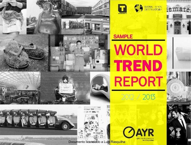 SAMPLE                             WORLD                             TREND                             REPORT             ...