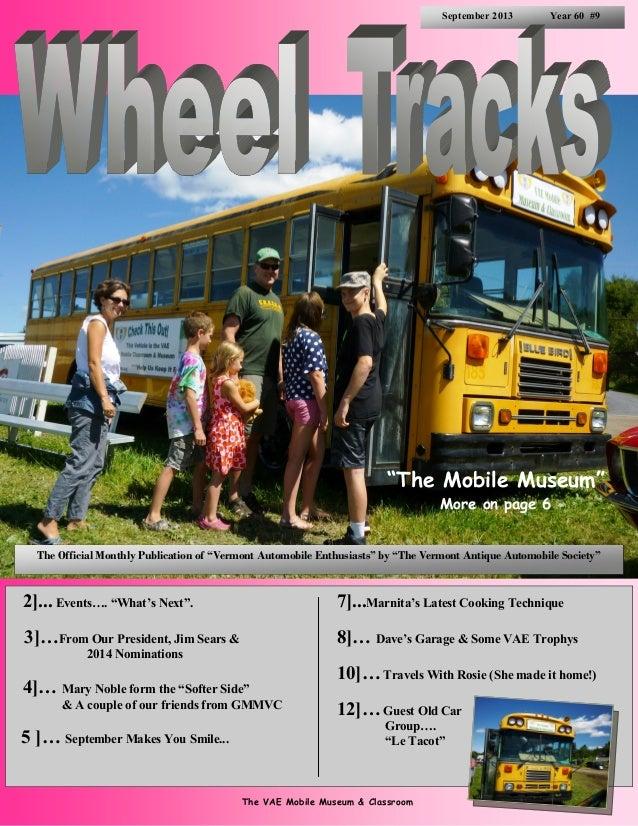 Wheel Tracks September 2013