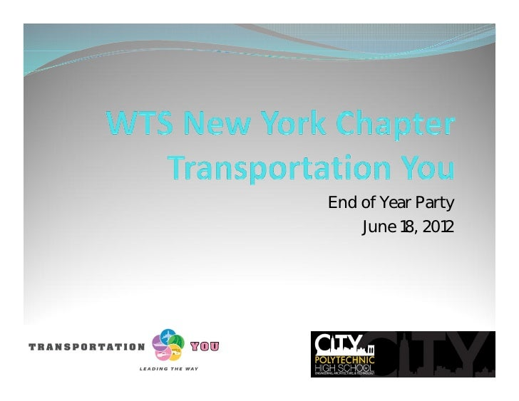 End of Year Party    June 18, 2012