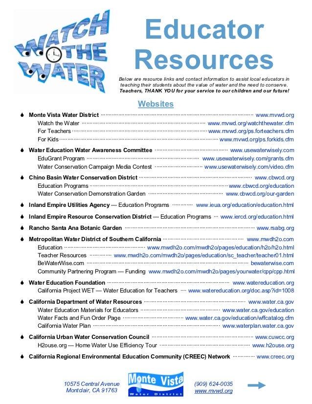 Educator                                                           Resources                                              ...