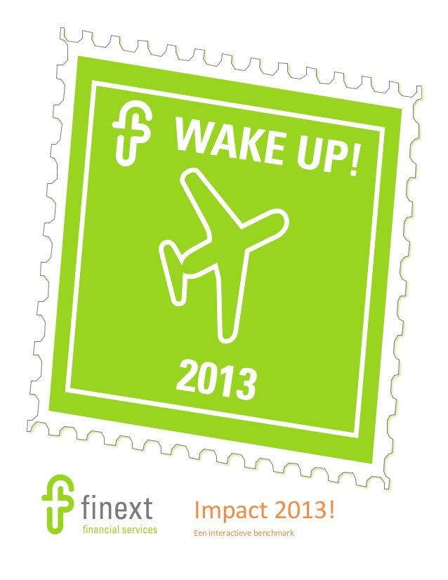 Finext Financial Services - Impact 2013: Integrale besturing