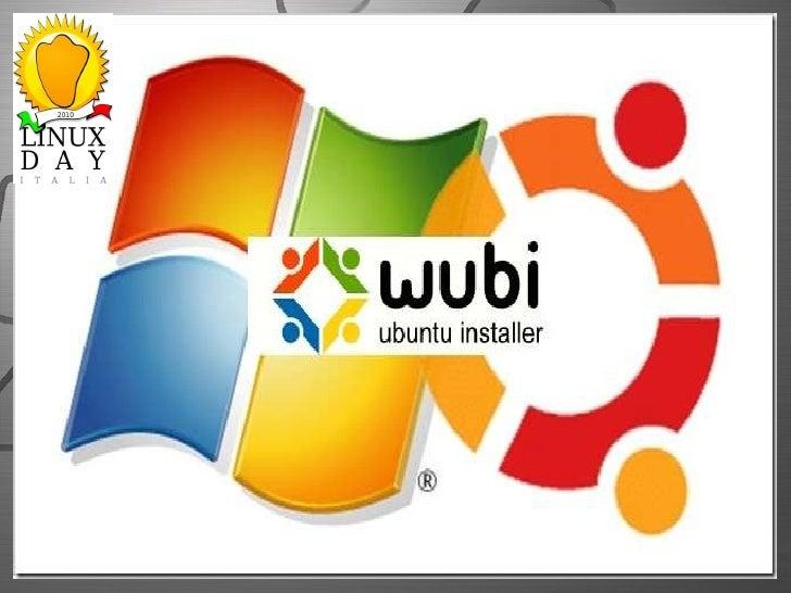 Wubi come installare linux Ubuntu facilmente