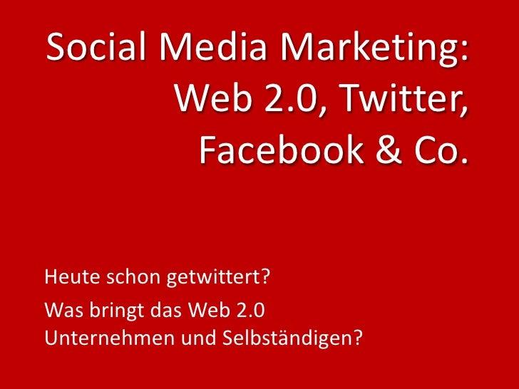 Social Media Marketing - 2010