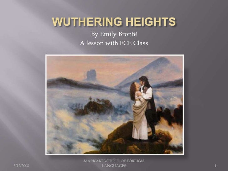 Wuthering Heights, an FCE lesson