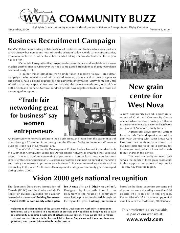 WVDA Newsletter - November 2000