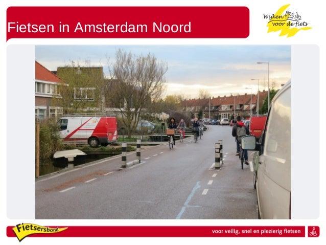 Fietsen in Amsterdam Noord