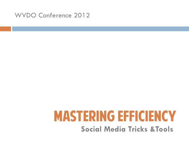 Mastering Efficiency: Social Media Tools and Tricks