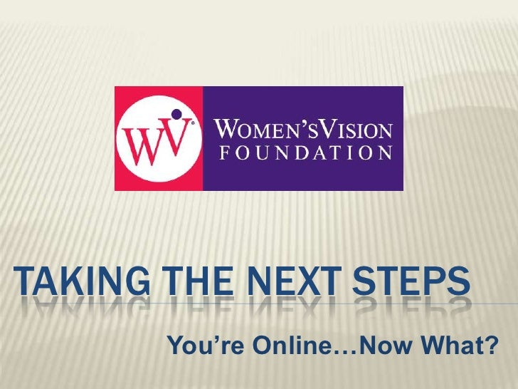 Women'sVision Foundation Presentation