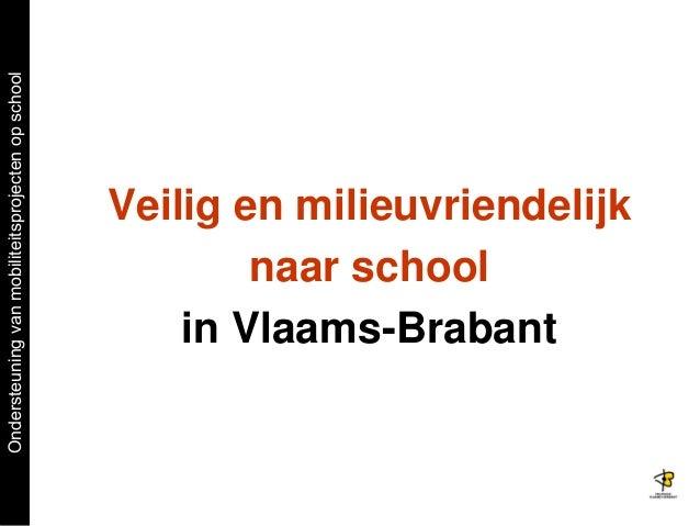 Werkwinkel 3 : START TO STOP - Provincie Vl. Brabant 3