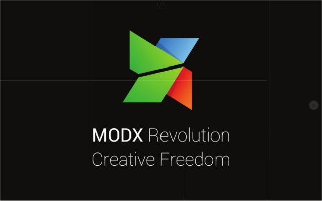 W     fl  MODX Revolution Creative Freedom