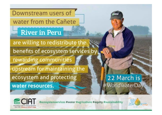 World Water Day 2014 - Ecosystems services