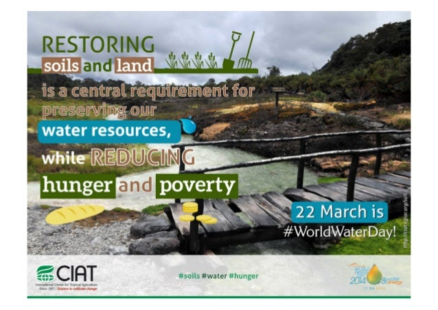 World Water Day 2014 - Land restauration