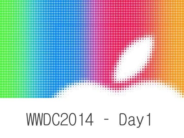 WWDC2014 – Day1