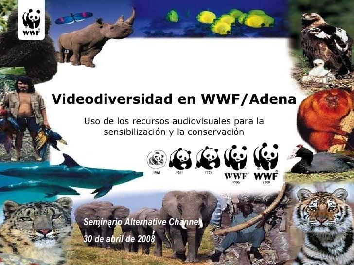 Vídeodiversidad en WWF