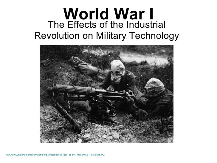 WWI - Weapons and Trench Warfare