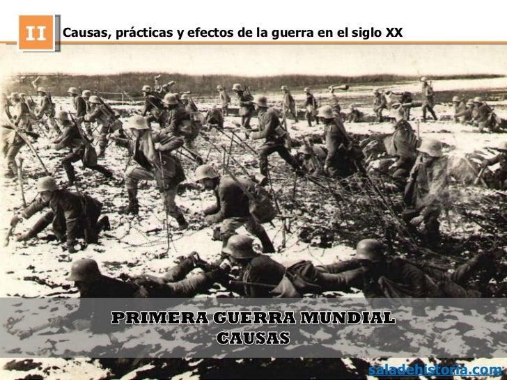 efectos de la guerra: