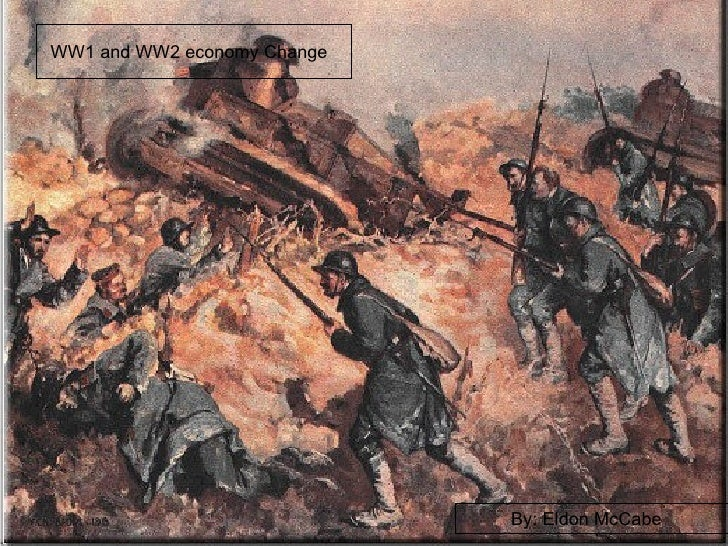 WW1 to WW2 Econemy Eldon