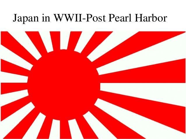 Japan in WWII-Post Pearl Harbor