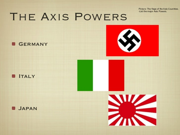 Axis powers - Wikipedia