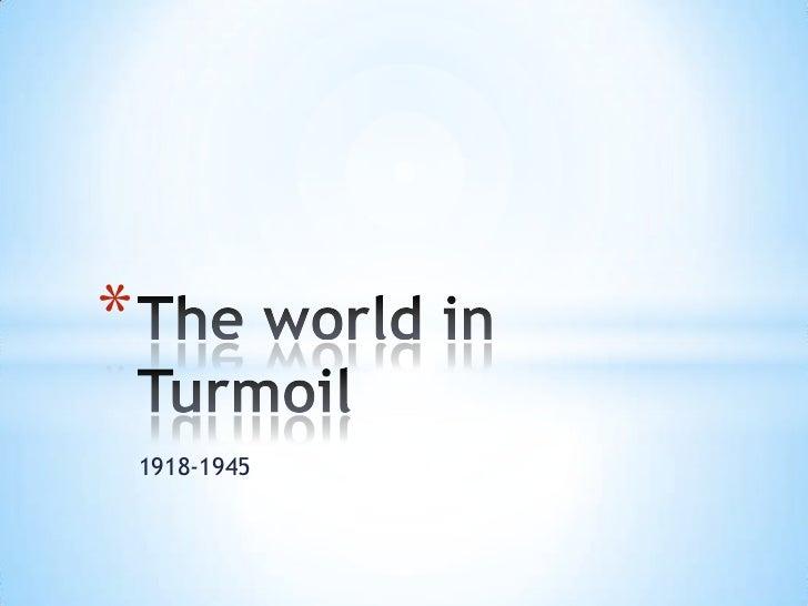 *    1918-1945