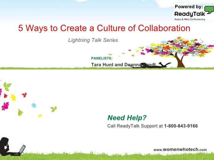 WWT 2010: 5 Ways to Create a Culture of Collaboration
